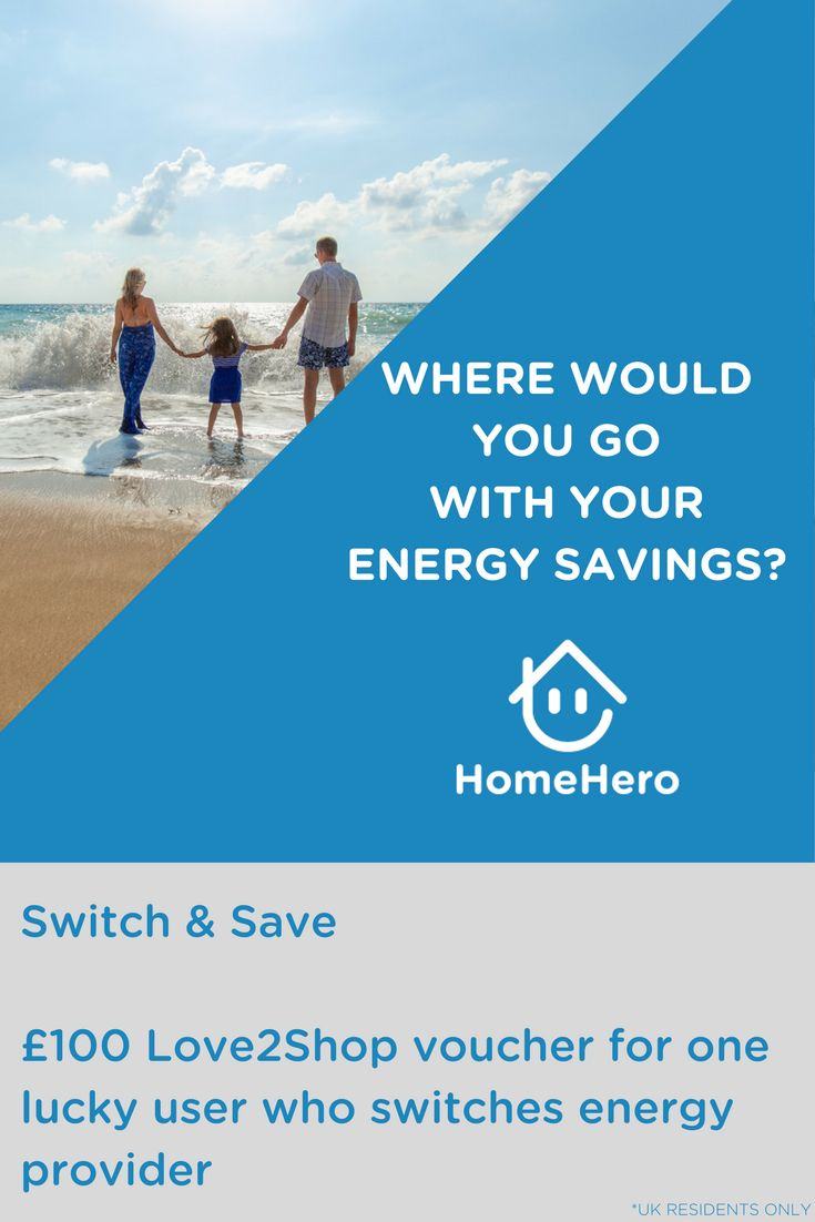 Introducing our energy comparison/switching service. We deliver you the best energy deals on the market and can save you up to £200 per year.   To celebrate these savings, were giving away £100 Love2Shop voucher to someone who switches their provider using HomeHero between now and Friday 22/03/2017 before 5pm. Good Luck #competition #UK #energy #giveaway #voucher