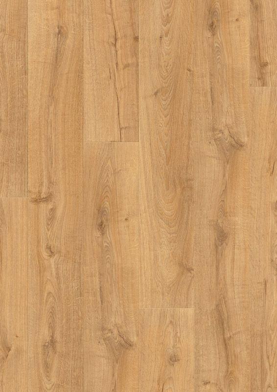 Revêtement de sol stratifié Quick-Step® Largo Chêne Cambridge naturel monolames LPU1662