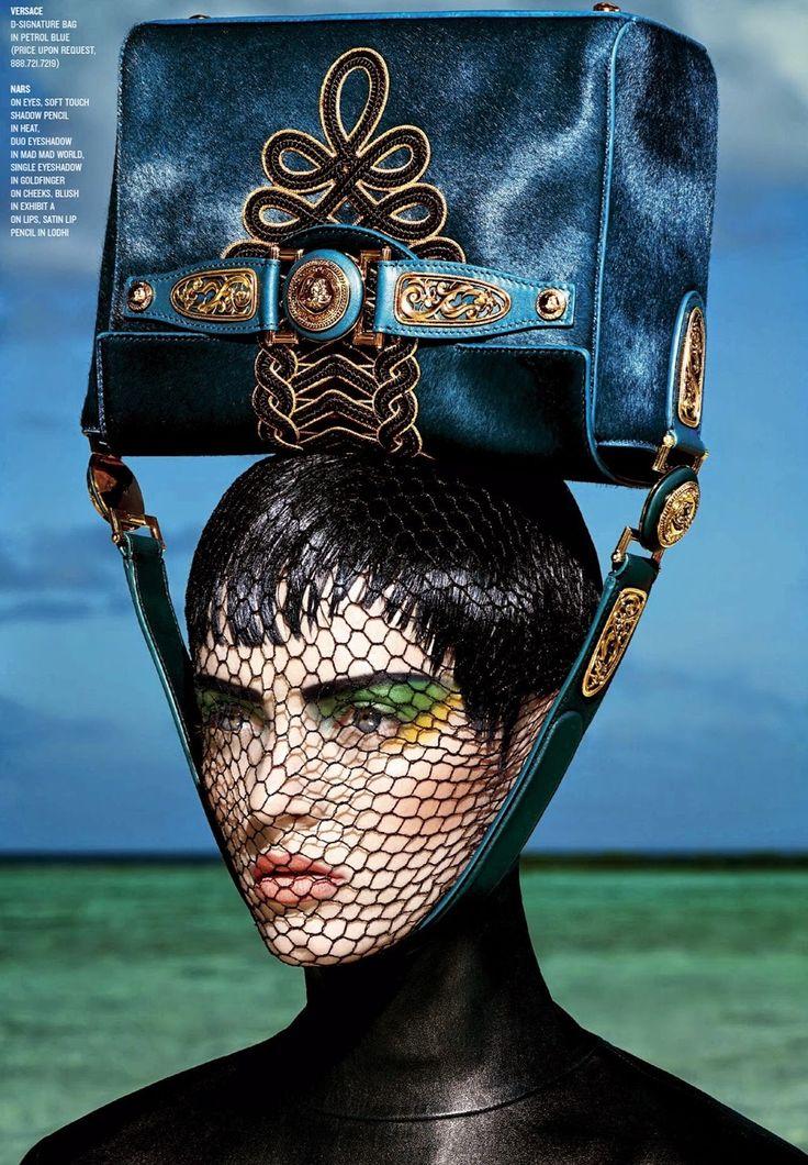 V Magazine Fall 2014 | Daria Strokous por François Nars [Editorial]