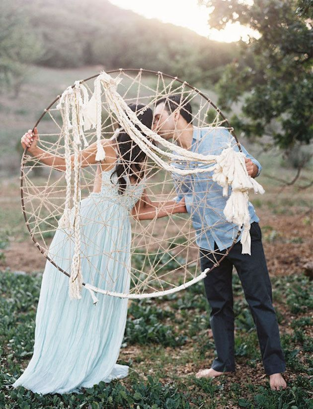 Dreamcatcher Wedding Decor | Bohemian Wedding Inspiration | Bridal Musings Wedding Blog