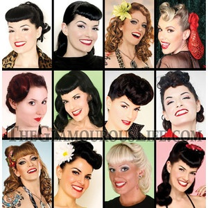 Rockabilly Hairstyles The Glamourous Life Celebrity Fashion,... - Polyvore