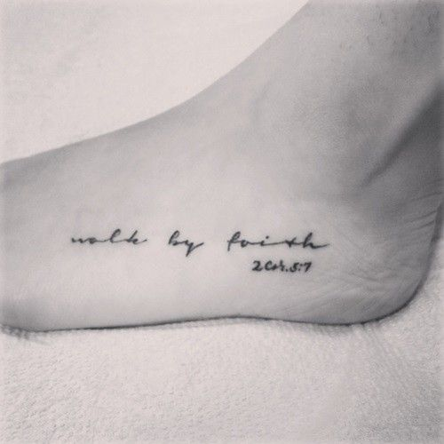 The Most Beautiful Quotes Tattoos for Women | Fashionaries