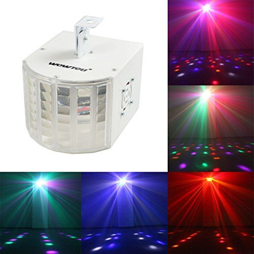 WOWTOU® 18W Super Bright Speed Adjustable Voice-activated 6 Colors Multi-lens LED Party Disco Stage Dance Club DJ Lighting LED Strobe Light WOWTOU http://www.amazon.com/dp/B00P63ZY2U/ref=cm_sw_r_pi_dp_RDBnvb10PED8P