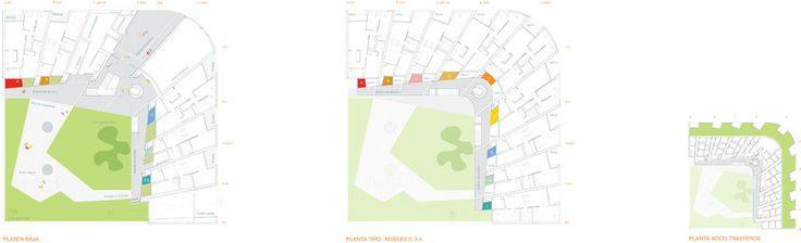Социальное жилье в Вальекас,план