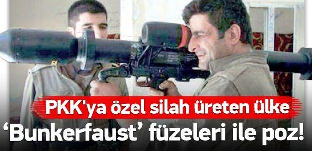 Almanya'dan Teröre,PKK'ya özel üretim! Almanya'nın Terör Örgütü PKK'ya özel modern silahlar ürettiği ve bunları Hollanda'nın askeri kargo uçakları ile bölgeye sevk ettiği ortaya çıktı