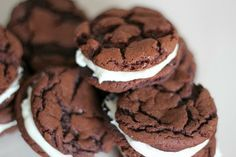 Homemade Oreo Cookies from Boxed Cake Mix!