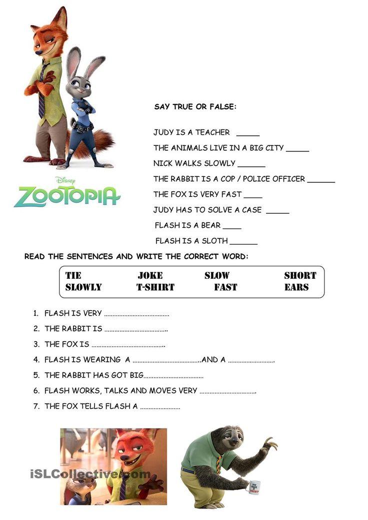 Zootopia Trailer Activities