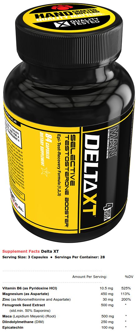 MAN Sports Delta XT has been announced, and it looks like a super-advanced ZMA supplement - epicatechin included! https://blog.priceplow.com/supplement-news/delta-xt  #DeltaXT