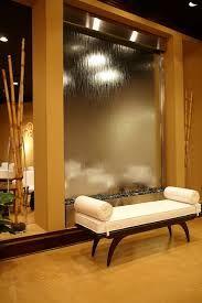 glass indoor wall waterfall - Google Search
