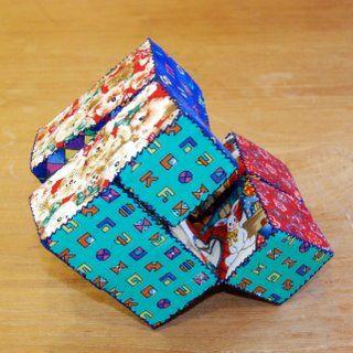 Deze puzzel kan je van stof maken, maar ook van gehaakte lapjes