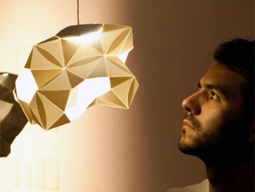 The Committee of Sleep Lighting Installation by Talia Radford & Juan Sebastián Gómez // via MoCoLoco