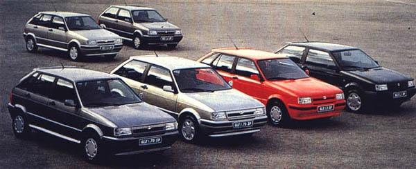 Gama Ibiza New Style (febrero 1991)