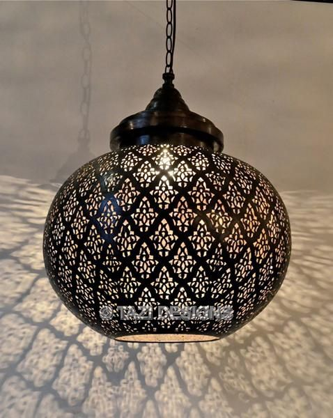 Modern Moroccan Pendant Light With Images Moroccan