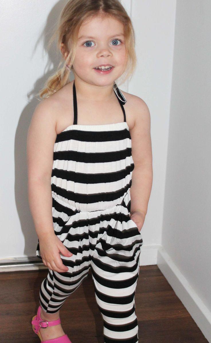 Stripe jumpsuit#kidsfashion#summer#littlemilk