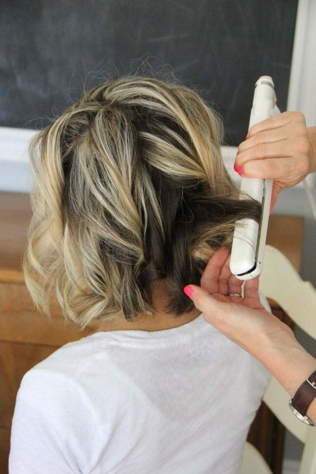 cool Стильные укладки на средние волосы в домашних условиях (50 фото) — Стоит сделать! Читай больше http://avrorra.com/ukladki-na-srednie-volosy-v-domashnih-uslovijah-foto/