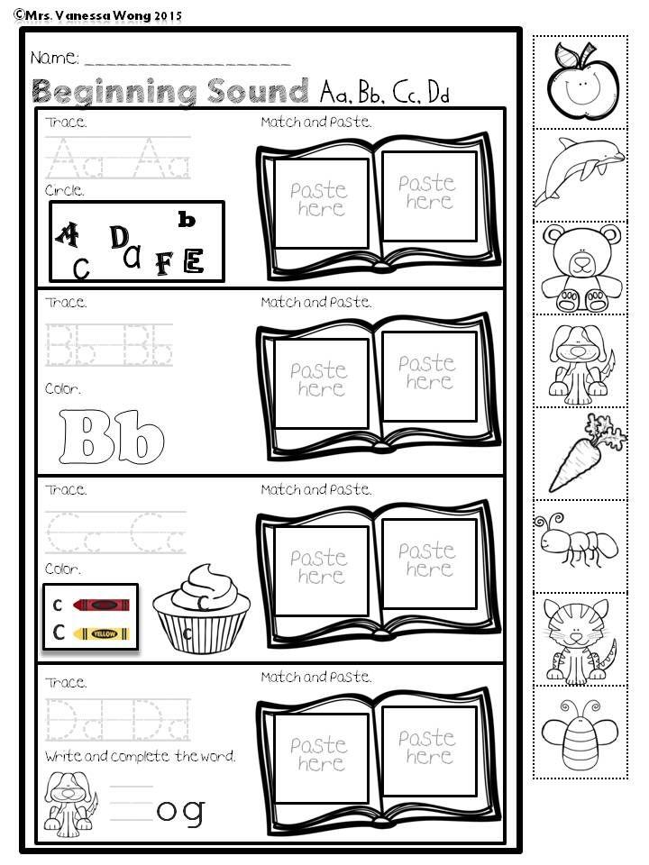 86 best Alphabet Worksheet (Preschool) images on Pinterest