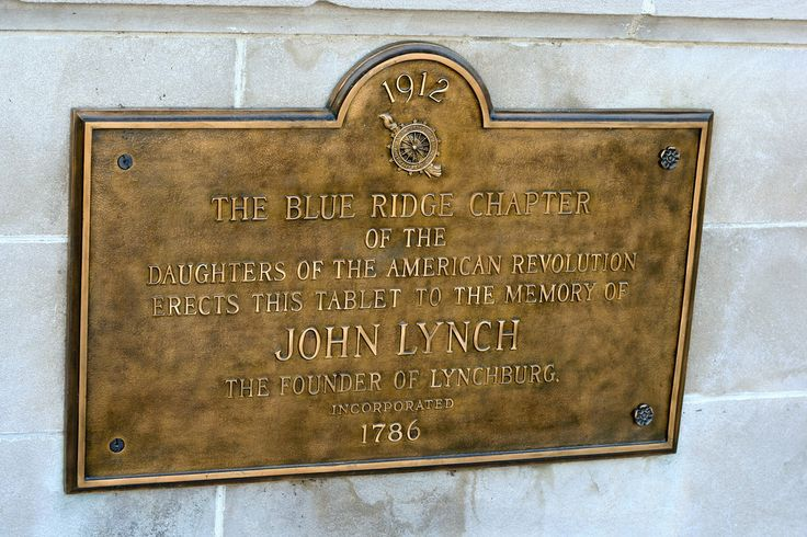 John Lynch, founder of Lynchburg in 1786