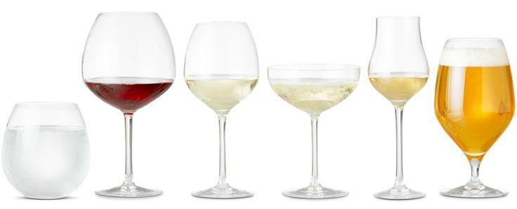 Rosendahl premium glas - alle glas i serien