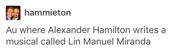 lin manuel miranda. my name is lin manuel miranda. and there's a million things i've seen and done. just listen. just listen..