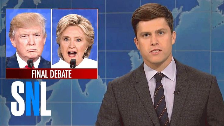 Weekend Update on the Third Presidential Debate - SNL