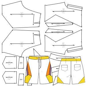 Men's sport wear patterns