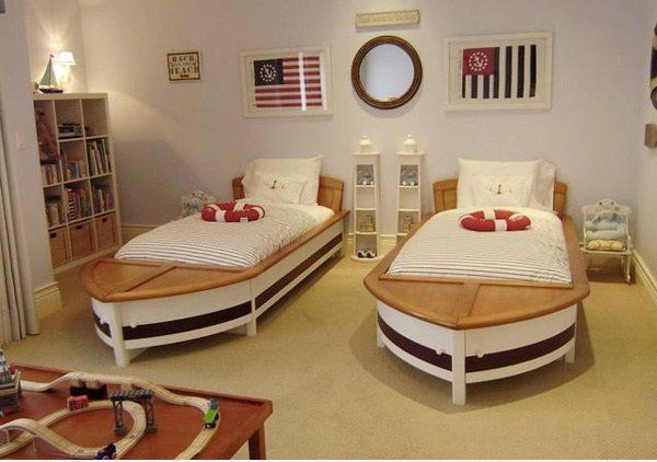 Kamar tidur ala bajak laut | 40 Ide Unik Untuk Make Over Rumahmu