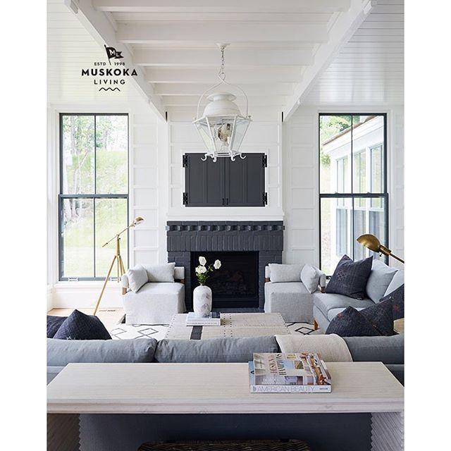 148 Best Muskoka Living Interiors Images On Pinterest