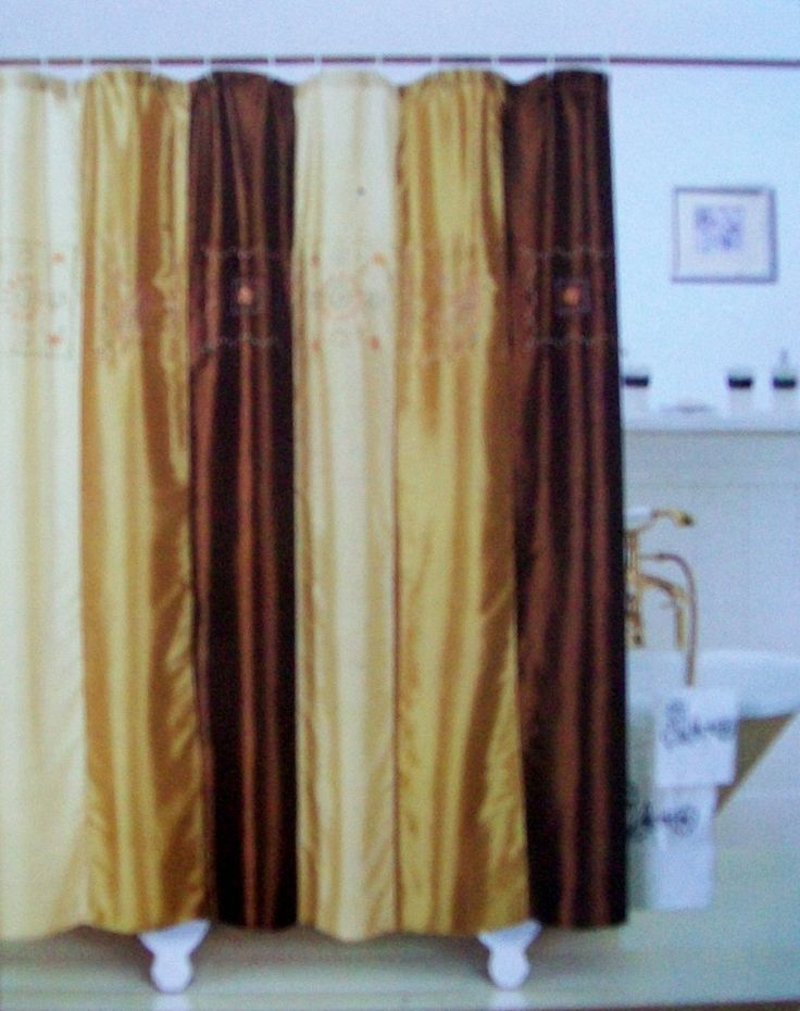 164 Best Images About Shower Curtains On Pinterest Taupe Black Shower Curt