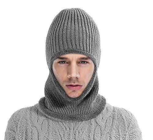 Mocofo Kint Winter Hats, 3-In-1 Cold Weather Beanie With ... #hat #warm   #knit   #fur  #stylish #thick #comfy #winter   #cold  #weather #cozy #slouchy #loose  #cap  #snow  #fluffy #furry   #winterfashion #fashion #menfashion #shopping #gift #menhat