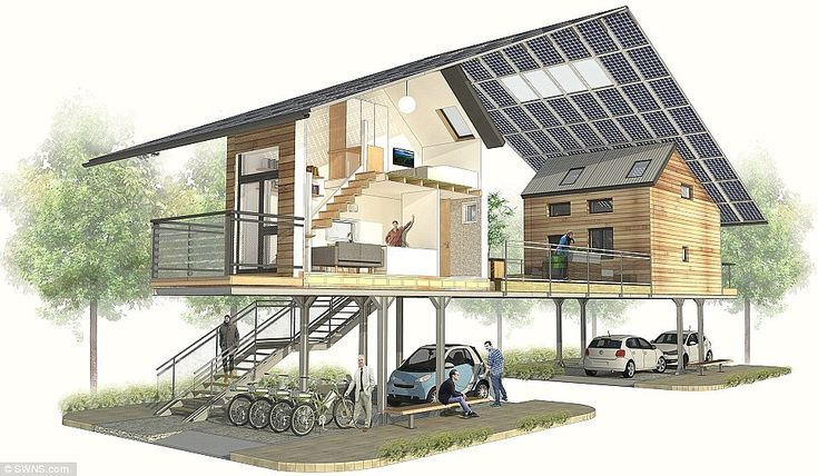 The ZEDpod is is a low-cost, prefabricated, super energy-efficient micro home that require...