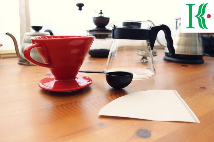 Make :coffee: with #Hario_V60 by #KavalaCoffee.