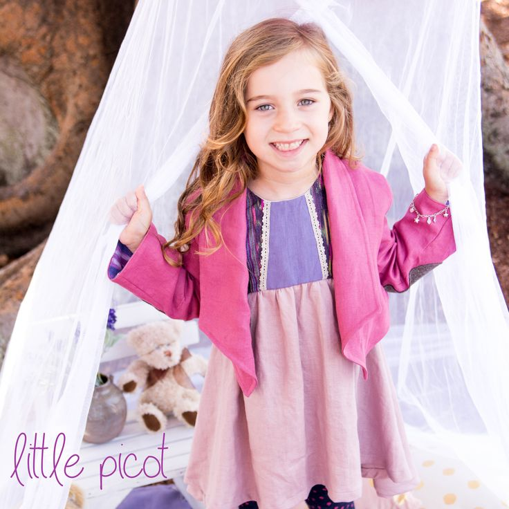 little picot A/W 15 - Albertina Blazer & Carmella Dress! Whimsical Eco-Friendly Clothing for little girls!