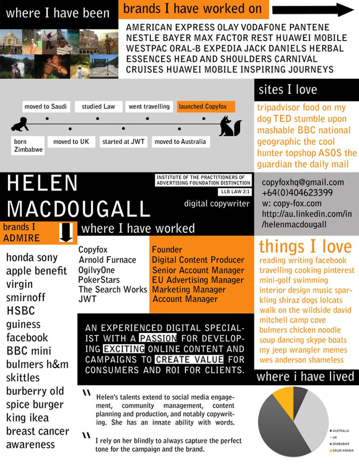 10 best Visual CV images on Pinterest Resume design, Creative cv - visual cv resume