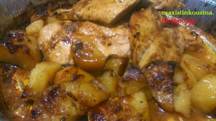 Μάχη στην κουζίνα: Κοτόπουλο Φιλέτο Στο Φούρνο Με Σάλτσα Μπάρμπεκιου