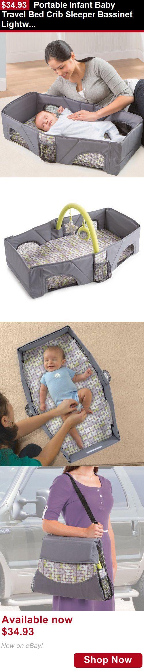 Baby Co Sleepers Portable Infant Travel Bed Crib Sleeper Bassinet Lightweight Diaper Changer