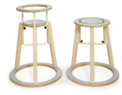 The perfect high chair for my fantasy grand kids in my fantasy beach house. Cool Scandinavian design from Artchoo.com