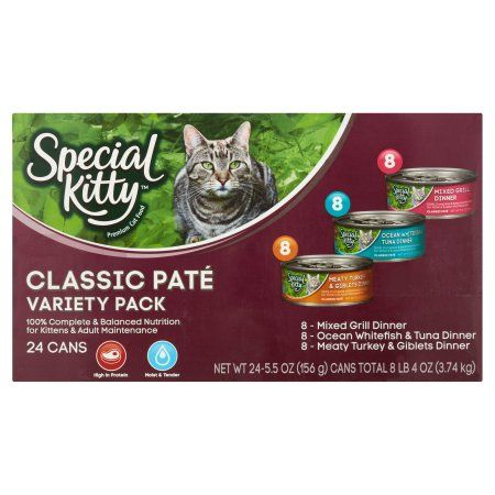 Pets Cat Food Kitty Mixed Grill