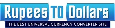 Rupees to Dollars is a online universal currency c…