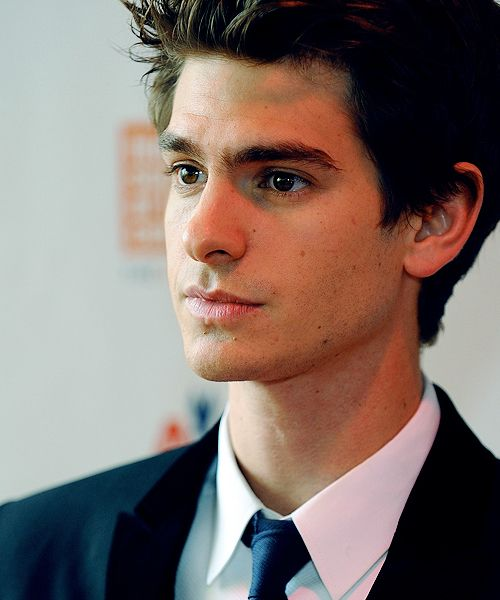 oh hot. haha Andrew Garfield(: