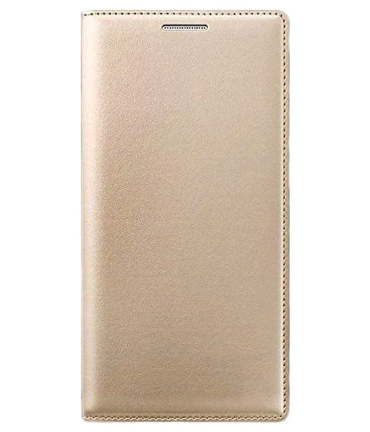Acase Flip Cover For Letv Le1S -Golden