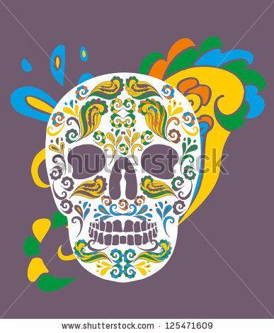 Tattoo Skull Vector Art - 125471609 : Shutterstock