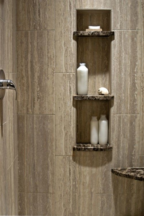 Cut Outs And Bench Alternative   Same Material As Countertop? Shower NicheShower  TilesTile ...