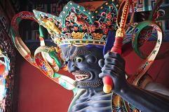 #demon #creature #fototapeta #dekorujemysciany #wnetrza #interior #dekoracja #sciany #China #Chiny #Azja #Asia #Sculpture #temple Fototapeta z Demonem z buddyjskiej Chińskiej świątyni!- budzi grozę! więcej na: http://dekorujemysciany.pl/demon-z-buddyjskiej-swiatyni-jin-dian-chiny-63.html