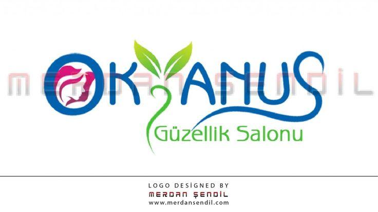 Okyanus Güzellik Salonu Logo | Merdan Şendil – Personal Portfolio