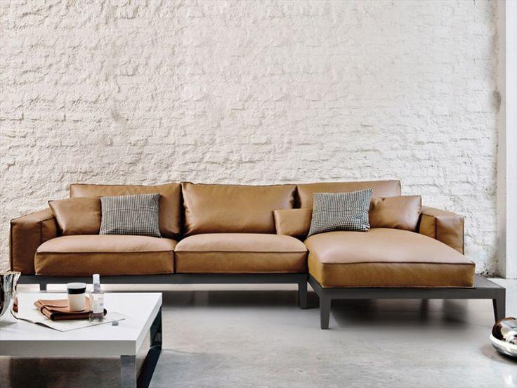 Anbau- Sofa mit abnehmbarem Bezug CARESSE FLY | Sofa - ESTEL
