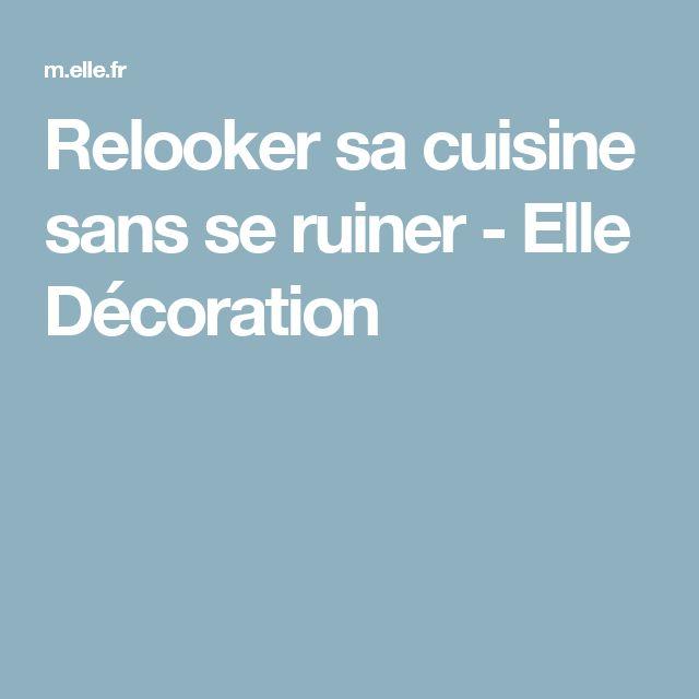 best 25 relooker sa cuisine ideas on pinterest renover. Black Bedroom Furniture Sets. Home Design Ideas