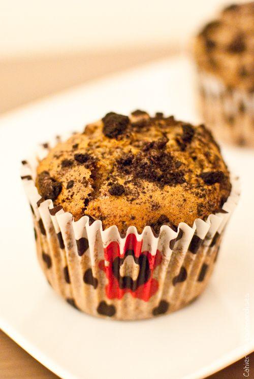 Muffins Oreos - Cahier de gourmandises