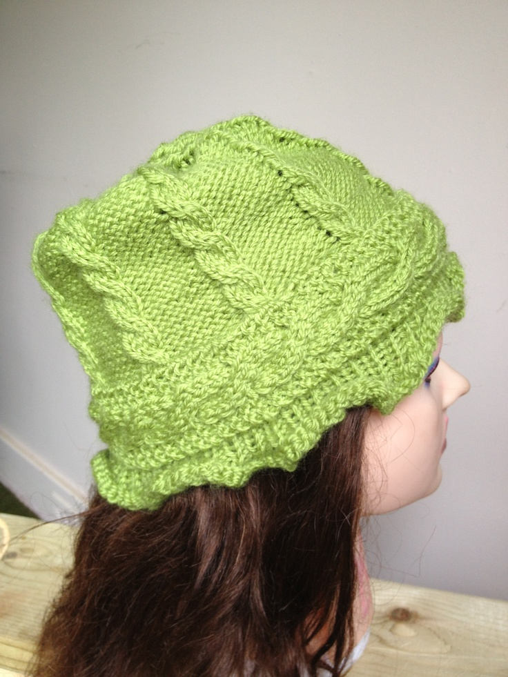 Classic cabled hat