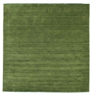 Handloom fringes - Dark Green matta 250x250