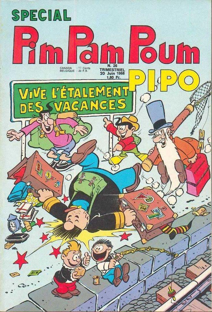 Scan Pim Pam Poum Pipo Spécial N° 26 Grand Format Couverture : Jean